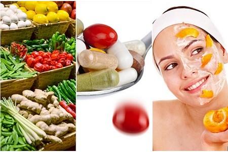 Витамины для кожи лица.