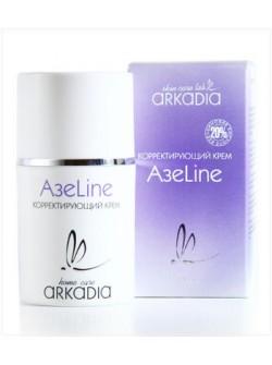 Крем АзеLine корректирующий для лица, Аркадия, 50 мл - антимикробное, антикомедогенное действие, сужает поры, купить с бесплатной доставкой по Москве.