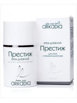 Крем Престиж дневной Аркадия, 50 мл, с яичным и растительными маслами, антивозрастной, увлажняющий крем, купить с бесплатной доставкой по Москве.