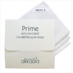 Муслиновые салфетки для лица Prime, Аркадия, 3 шт - Эффект применения - ОЧИЩЕНИЕ