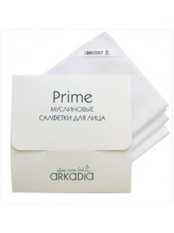 Муслиновые салфетки для лица Prime Аркадия, 3 шт, с бесплатной доставкой по Москве.