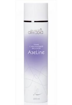 Тоник с азелаиновой кислотой АзеLine для жирной и проблемной кожи, акне, Аркадия - 200 мл - Эффект применения - АНТИ-АКНЕ / ПРОТИВОВОСПАЛИТЕЛЬНЫЙ / СЕБОРЕГУЛИРУЮЩИЙ / ТОНИЗИРОВАНИЕ
