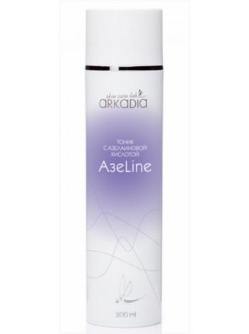 Тоник для лица с азелаиновой кислотой АзеLine для жирной и проблемной кожи, акне, Аркадия - 200 мл - купить с бесплатной доставкой по Москве.