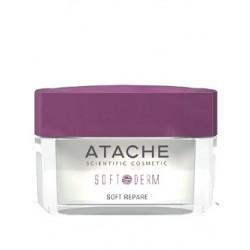 Soft Repare cream night Ночной успокаивающий крем для лица линия Soft Derm Atache 50 мл - Эффект применения - УВЛАЖНЕНИЕ / УСПОКАИВАЮЩИЙ ЭФФЕКТ