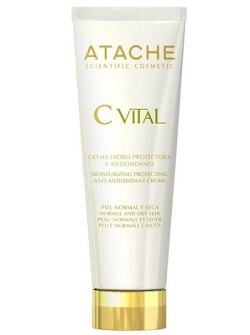 Увлажняющий антиоксидантный крем для норм/сухой кожи Hidroprotective and Antioxidant Cream Atache,50 мл - купить с бесплатной доставкой по Москве.