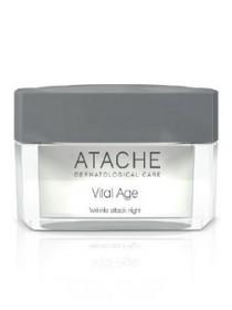 Крем ночной против морщин Vital Age Wrinkle Attack Night с ретинолом, Atache, 50 мл - Эффект применения - ANTI-AGE