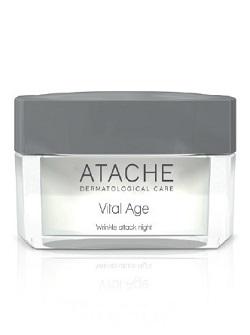 Крем ночной против морщин Vital Age Wrinkle Attack Night с ретинолом, Atache, 50 мл – купить с бесплатной доставкой по Москве.