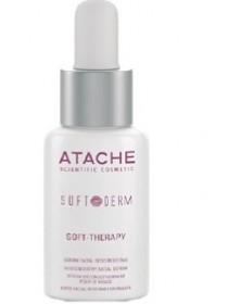 Soft Therapy Serum Сыворотка успокаивающая для лица линия Soft Derm, Atache 30 мл - Эффект применения - УВЛАЖНЕНИЕ / УСПОКАИВАЮЩИЙ ЭФФЕКТ