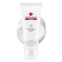 Влагосберегающий крем для сухой кожи Dry Rescue Cream Cell Fusion C (Expert), 100 мл - Эффект применения - УВЛАЖНЕНИЕ / УСПОКАИВАЮЩИЙ ЭФФЕКТ
