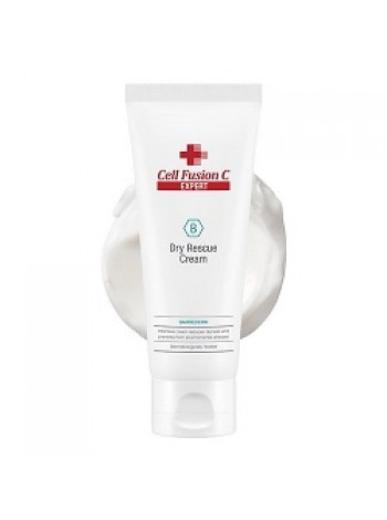 Влагосберегающий крем для сухой кожи Dry Rescue Cream Cell Fusion C, 100 мл - полноценное увлажнение - бесплатная доставка по Москве.