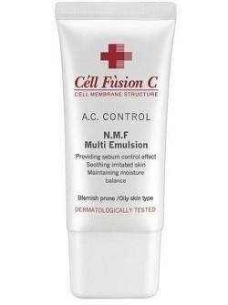 Восстанавливающая эмульсия для обезвоженной жирной кожи N.M.F. Multi Emulsion Cell Fusion C - увлажняет, снимает воспаления, купить с бесплатной доставкой по Москве.
