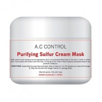 Антибактериальная себорегулирующая крем-маска Purifying sulfur cream-mask Cell Fusion C, 250 мл - Эффект применения - ОЧИЩЕНИЕ / ПРОТИВОВОСПАЛИТЕЛЬНЫЙ / СЕБОРЕГУЛИРУЮЩИЙ / УВЛАЖНЕНИЕ