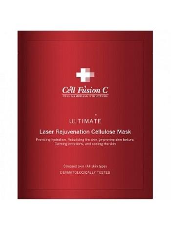 Маска регенерирующая Ультимейт Laser rejuvination Cellulose Mask Cell Fusion C, 25 гр х 5 - эпидермальный фактор роста, гиалуроновая кислота, бесплатная доставка по Москве.
