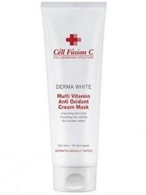 Мультивитаминная антиоксидантная крем-маска Multi vitamin antioxidant cream mask Cell Fusion C, 250 мл - Эффект применения - ANTI-AGE / ОСВЕТЛЕНИЕ / ОТБЕЛИВАНИЕ / УВЛАЖНЕНИЕ