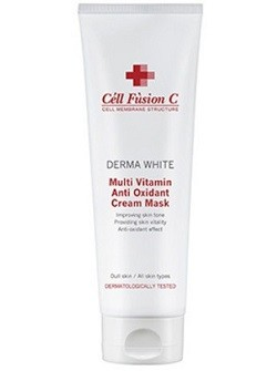 Мультивитаминная антиоксидантная крем-маска Multi vitamin antioxidant cream mask Cell Fusion C, 250 мл - купить с бесплатной доставкой по Москве.