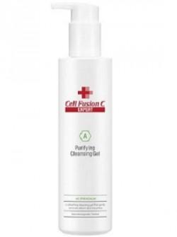 Очищающий пилинговый гель для жирной кожи, Purifying Cleansing Gel, Cell Fusion C (Expert), 200 мл - бесплатная доставка по Москве.