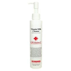 Витаминизированное очищающее молочко для любого типа кожи, Vitamin Milk Cleanser, Cell Fusion C, 180 мл - Эффект применения - ANTI-AGE / ОСВЕТЛЕНИЕ / ОЧИЩЕНИЕ