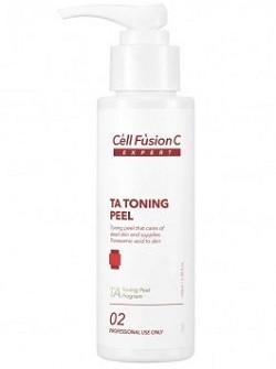 TA Toning Peel Пилинг Cell Fusion, отшелушивание и увлажнение – 2 этап TA TONING PEEL, 100 мл - бесплатная доставка по Москве.