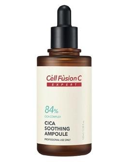 Сыворотка для чувствительной жирной кожи Cica Soothing ampoule Cell Fusion C, 100 мл - купить с бесплатной доставкой по Москве.