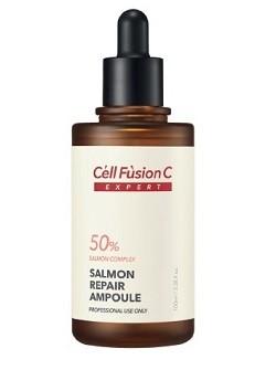 Антивозрастная сыворотка для зрелой кожи Salmon Repair ampoule Cell Fusion C, 100 мл - купить с бесплатной доставкой по Москве.