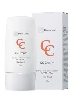 Дермахил Крем корректор СС SPF30 Tan Beige Cream профилактика anti-age, купить с бесплатной доставкой по Москве.