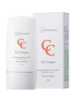 Дермахил Крем корректор СС натуральный бежевый SPF30 Natural Beige Cream профилактика anti-age, купить с бесплатной доставкой по Москве.