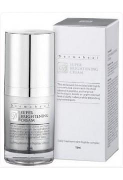 Крем от пигментации на лице Сияние - Super Brightening Cream, Dermaheal (Дермахил), 15 мл - Эффект применения ANTI-AGE / ОСВЕТЛЯЮЩИЙ / ОТБЕЛИВАЮЩИЙ