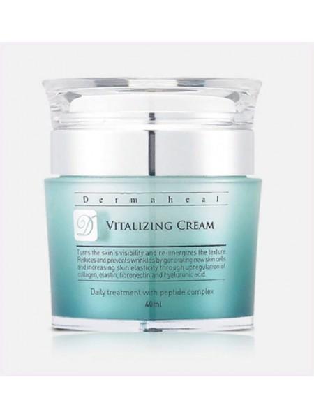 Крем для лица ревитализующий - Vitalizing Cream, Dermaheal (Дермахил), 40 мл - Эффект применения - ANTI-AGE