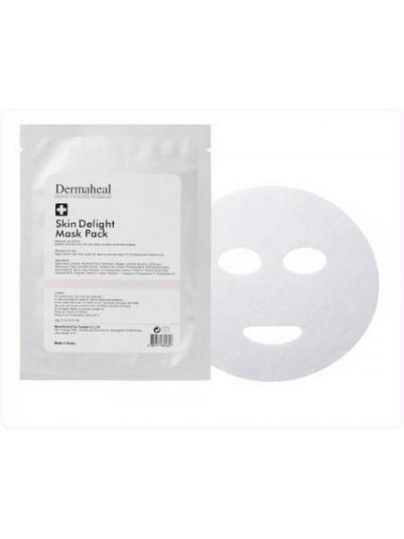 Маска для лица осветляющая - Skin Delight Mask Pack, Dermaheal (Дермахил), 22 гр - Эффект применения ANTI-AGE / ОСВЕТЛЕНИЕ / ОТБЕЛИВАНИЕ