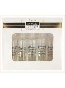 Омолаживающая сыворотка для глаз с лифтинг эффектом, Космотерос 5 амп х 2 мл, гиалуроновая кислота, пептиды, бесплатная доставка по Москве.