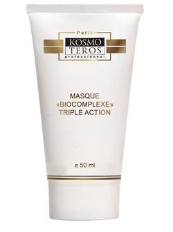 Активная маска Тройной биокомплекс, Kosmoteros, средство от морщин на лице с бесплатной доставкой по Москве.