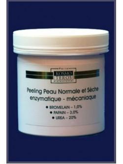 Пилинг для нормальной и сухой кожи энзимно-механический, Космотерос, очень деликатные частички бережно отшелушивают, купить с бесплатной доставкой по Москве.