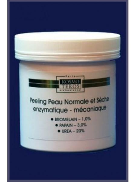 Пилинг для нормальной и сухой кожи энзимно-механический, Kosmoteros (Космотерос), 250 мл. - Эффект применения - ОТШЕЛУШИВАНИЕ