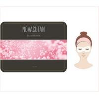 Блефаромаска-филлер для век (набор) - Eye Filler Mask Pack, NOVACUTAN (Новакутан),12 гр х 5шт - Эффект применения - ANTI-AGE / СНЯТИЕ ОТЕКОВ И ОСВЕТЛЕНИЕ ТЕМНЫХ КРУГОВ / УВЛАЖНЕНИЕ