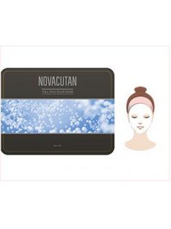 Маска-филлер для лица (набор) -  Full Face Filler Mask Pack, NOVACUTAN (Новакутан), 25 гр х 5шт - с пептидами, гиалуроновой кислотой и экстрактами, купить с бесплатной доставкой по Москве.