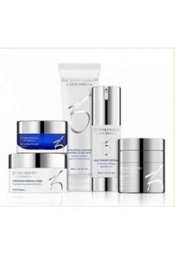Набор – Антивозрастная программа (фаза 2) ZO Skin Health, Obagi (Обаджи), 5 средств - Эффект применения ANTI-AGE / ОТШЕЛУШИВАНИЕ