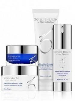 Ежедневная программа по уходу за кожей – набор (фаза 1) ZO Skin Health, Obagi (Обаджи), 4 средства с бесплатной доставкой по Москве.