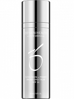 Основа под макияж PRIMER + SUNSCREEN с солнцезащитным экраном SPF30, ZO Skin Health (Obagi), 30 мл - бесплатная доставка по Москве.
