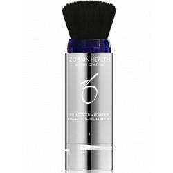 Солнцезащитная пудра SPF 30 (SUNSCREEN + Powder Broad Spectrum)  ZO Skin Health (Obagi), 3 гр - Эффект применения - СОЛНЦЕЗАЩИТНЫЙ ЭФФЕКТ