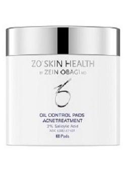Салфетки Obagi для контроля себума Обаджи Oil Control Pads ZO Skin Health, 60 шт - профилактика акне - бесплатная доставка по Москве.