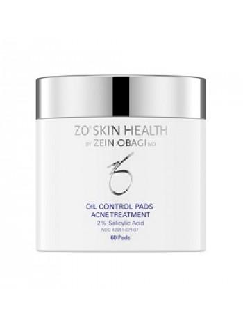 Салфетки для контроля за секрецией себума Обаджи Oil Control Pads ZO Skin Health (Obagi), 60 шт - профилактика акне - бесплатная доставка по Москве.