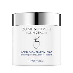 Салфетки для обновления кожи Complexion Renewal pads, ZO Skin Health Obagi, 60 шт - Эффект применения - ОТШЕЛУШИВАНИЕ / ПРОТИВОВОСПАЛИТЕЛЬНЫЙ / СЕБОРЕГУЛИРУЮЩИЙ / ТОНИЗИРОВАНИЕ