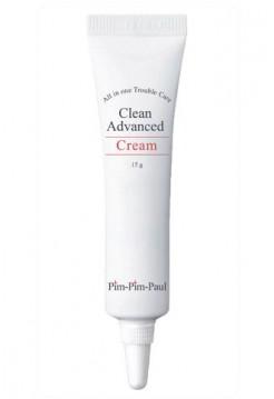 Крем для проблемной кожи - Clean Advanced Cream, Pim-Pim-Paul, 15 гр - Эффект применения - АНТИ-АКНЕ / ПРОТИВОВОСПАЛИТЕЛЬНЫЙ / СЕБОРЕГУЛИРУЮЩИЙ ЭФФЕКТ