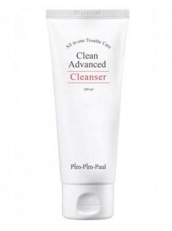 Гель-пенка очищающая для проблемной кожи - Clean Advanced Cleanser PIM PIM PAUL, воздействует на основные причины появления акне, купить с бесплатной доставкой по Москве.