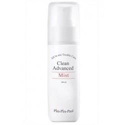 Спрей увлажняющий для жирной кожи (тоник) - Clean Advanced Mist, PIM-PIM-PAUL, 100 мл - Эффект применения - АНТИ-АКНЕ / ПРОТИВОВОСПАЛИТЕЛЬНЫЙ / СЕБОРЕГУЛИРУЮЩИЙ ЭФФЕКТ / ТОНИЗИРОВАНИЕ / УВЛАЖНЕНИЕ