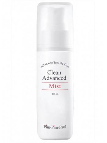 Спрей увлажняющий для жирной кожи (тоник) - Clean Advanced Mist, PIM-PIM-PAUL, с бесплатной доставкой по Москве.