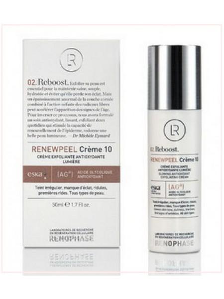 Реньюпил 10 (Ренофаз) - RENEWPEEL Creme 10 Renophase, Антивозрастной крем, 50 мл - Эффект применения - ANTI-AGE / ВОССТАНАВЛИВАЮЩИЙ ЭФФЕКТ