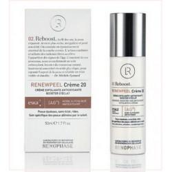 Реньюпил 20 (Ренофаз) - RENEWPEEL Creme 20, Renophase, Антивозрастной крем, 50 мл - Эффект применения - ANTI-AGE / ОСВЕТЛЯЮЩИЙ / ОТБЕЛИВАЮЩИЙ ЭФФЕКТ