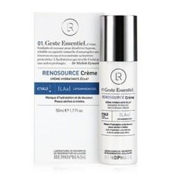 Крем Реносурс, Renosource Creme Hydratante Eclat, Renophase, увлажняющий, 50 мл - Эффект применения - УВЛАЖНЕНИЕ
