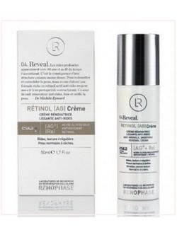 Крем ретинол АЖ Retinol AG Creme Renophase, антивозрастной крем с пептидом и гликолевой кислотой, купить с бесплатной доставкой по Москве.